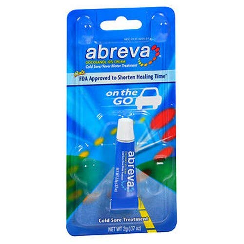 Abreva Cold Sore/Fever Blister Treatment.07-Ounce Tube