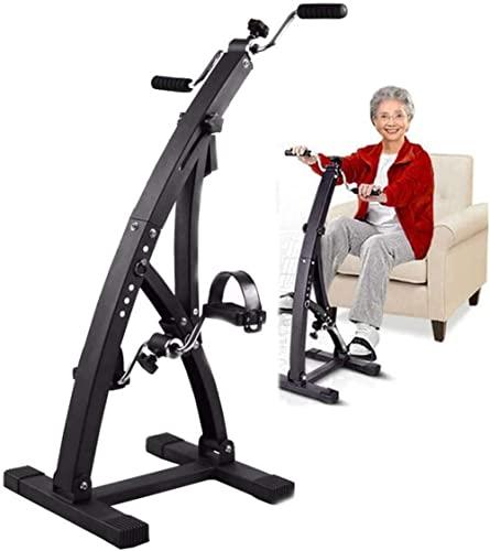 Pedal Bicicleta estática Máquina de rehabilitación Ejercitador de Brazos y piernas Que promueve la circulación sanguínea Equipo de Ejercicios para Ancianos y Ancianos