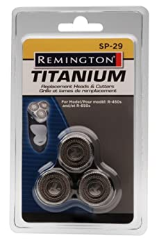 Remington SP-29 Replacement Cutters and Heads Silver