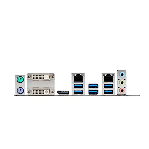 Asus Q170M2 Mainboard Sockel 1151 (micro-ATX, Intel Q170, 4x DDR Speicher, M.2 Schnittstelle)