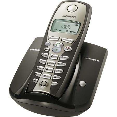 Siemens Gigaset C320 graphit, schnurlos Telefon DECT