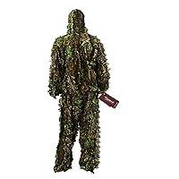 Zicac 3D Ghillie Tarnanzug Dschungel Ghillie Suit Woodland Camouflage Anzug Kleidung Für Jagd Verdeckt Festschmuck