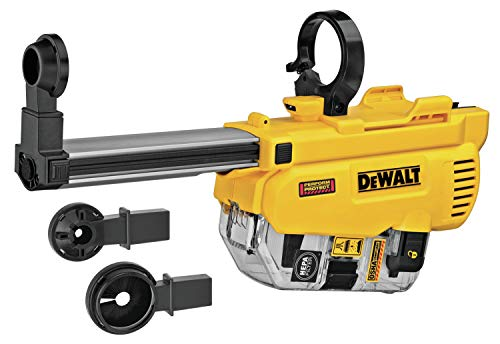 DEWALT Dust Extractor for DCH263 Rotary Hammer, D-Handle, 1-1/8-Inch (DWH205DH)