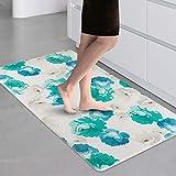 Anti-Fatigue Kitchen Mat, Comfort Washable Kitchen Rugs Non-Slip Floor Standing Mats Oil Stain Resistant Carpet for Indoor Outdoor Doormat,30x17 Inch