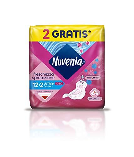 Nuvenia - Ultra Thin Deo Fresh - Compresas con alas - 14 unidades