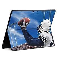igsticker Surface Pro X 専用スキンシール サーフェス プロ エックス ノートブック ノートパソコン カバー ケース フィルム ステッカー アクセサリー 保護 000031 スポーツ ラグビー スポーツ 写真