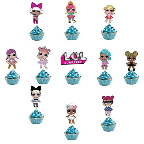 LOL Surprise Cupcake Toppers (Set of 24)