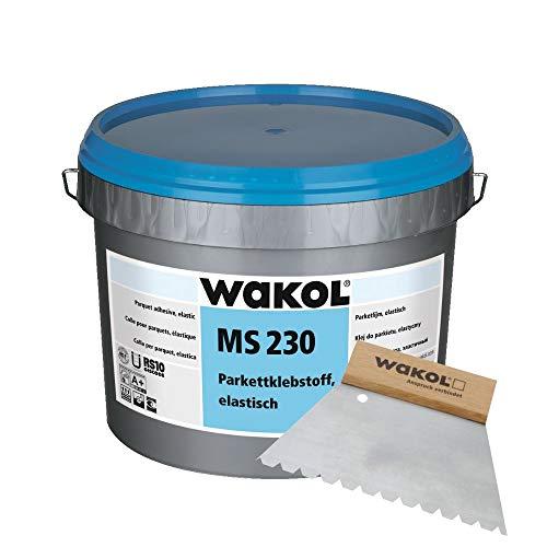 Wakol MS 230 Parkettkleber, 18 kg inkl. Wakol Zahnspachtel TKB B11