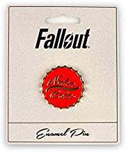 Official Fallout Nuka Cola Enamel Collector Pin - Unique Metal Collectibles for Lapel, Backpack, Purse, Clothes - Nuclear Wasteland Vault Dweller Fan Set Accessories - Licensed Merchandise