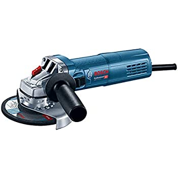 Bosch Professional  0601396104 Meuleuse Angulaire GWS 9-125 S (900 W, Régime à Vide : 2800 – 11000 tr/min, dans une Boite Carton) Bleu