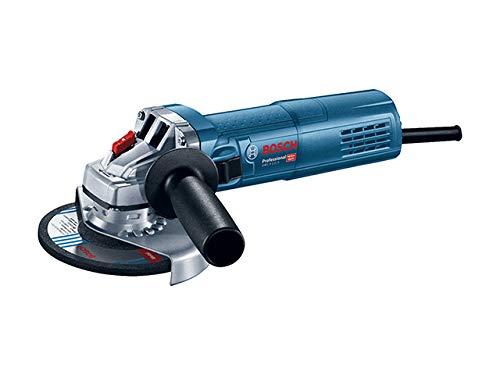 Bosch Professional Winkelschleifer GWS 9-125 S (Zusatzhandgriff, Aufnahmeflansch, Spannmutter, Schutzhaube, Karton, Scheiben-Ø: 125 mm, 900 Watt, Leerlaufdrehzahl: 2.800 – 11.000 min-1)