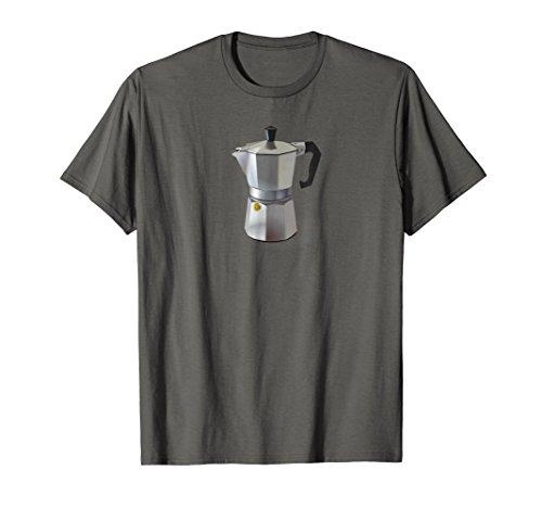 Stove Top Coffee Maker Moka Pot Espresso Machine T-Shirt