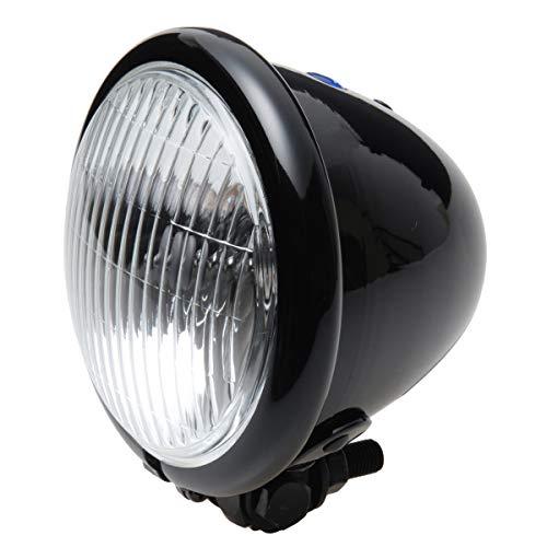 BigOne(ビッグワン) バイク 4.5インチ ベーツ ヘッドライト ブラック 黒