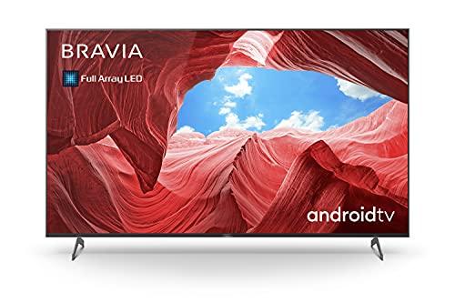 Sony BRAVIA KE-55XH90P - Smart TV 55 pollici, 4K ULTRA HD Full Array LED, HDR, con Android TV e controllo vocale (Modello esclusivo Amazon 2021)
