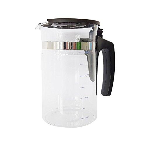 1,7 Liter Ersatz-Kanne für Mobile Umkehrosmoseanlage ohne Festwasseranschluss R.O.Pot. Ropot Glas-Kanne Behälter - Umkehrosmose-Filter Wasserfilter Trinkwasser Osmose