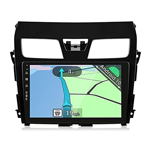 YUNTX Android 10 2 Din Autoradio Fit for Nissan Teana Altima(2012-2016)-10,1 Pulgadas-2G+32G-Gratis Cámara Trasera - Soporte DAB   GPS   Mandos de Volante   CarPlay   WiFi   Bluetooth 5.0   MirrorLink