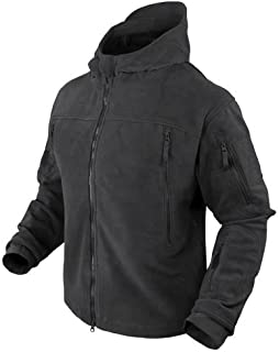 Seirra Hooded Fleece Jacket - Small - Black