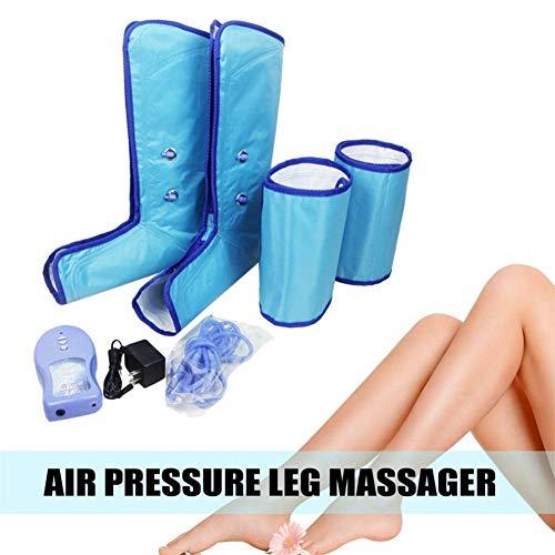 Massaggiatori per i Piedi Pressoterapia Portatile da Massaggio per uso Domestico 2 Metodi di Massaggio, 3 Livelli di Intensità