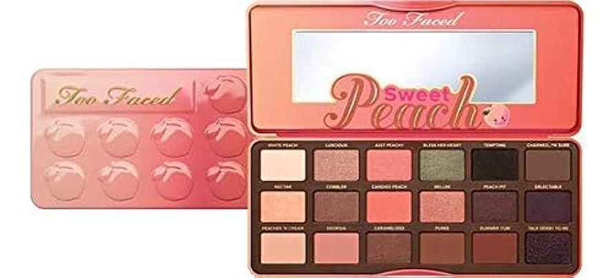 ソブリケットうなずくフレットToo Faced Sweet Peach Eyeshadow Palette Authentic [並行輸入品]