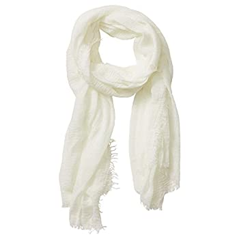Tickled Pink Women s Lightweight Summer Insect Shield Scarf Classic Ivory One Size
