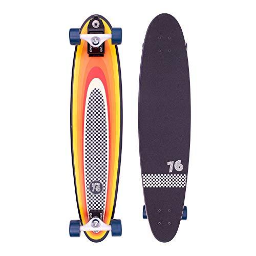 Z-Flex Surf-a-gogo Log Roll Longboard, Erwachsene Unisex, Mehrfarbig (Mehrfarbig, 37 Zoll)