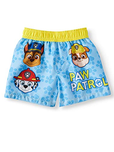 Infant Boys Paw Patrol Blue Swim Short Trunk - 24 Months