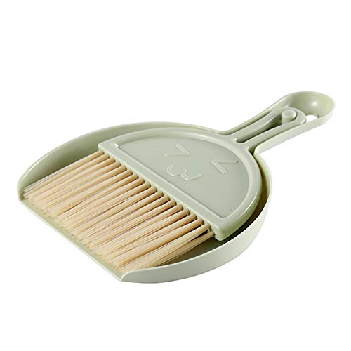 shuangmu Mini Broom And Dustpan Set, Keyboard Cleaning Brush Home Desktop Mini Broom Cleaning Brush For Home, Office
