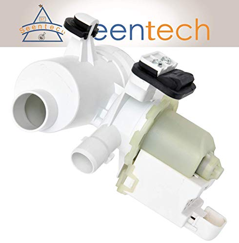 W10130913 Washer Drain Pump: Exact Fit for Whirlpool, Kenmore, Maytag - Replaces part numbers 8540024, 8540025, 8540027, W10117829, W10730972, WPW10730972VP