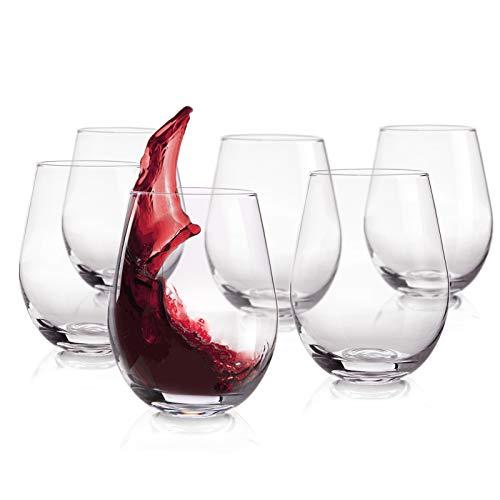 Classic Stemless Wine Glasses