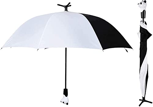 """new arrival Whimsical, 2021 Fashionable and wholesale Fabulous 30.7"""" Standing Panda Handle Stick Umbrella By SkyMall online sale"""