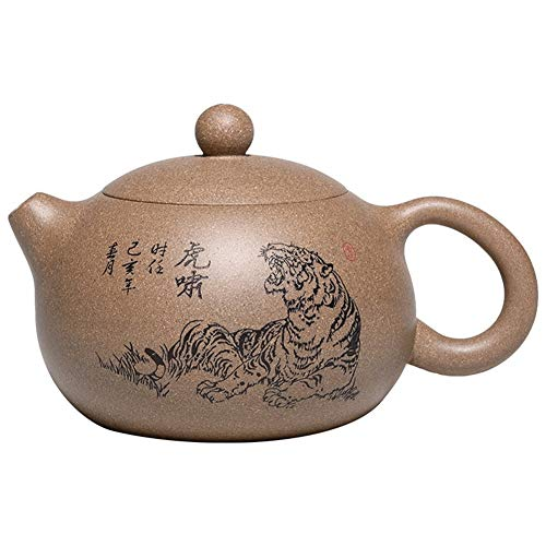 XinQuan Wang Xi Shi - Tetera con segmento de barro Tiger Xiao Xi Shi