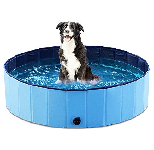 Jasonwell Foldable Dog Pet Bath Pool