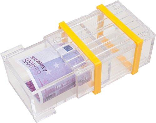 GICO Magische Trickbox plexi - Trickkiste, Trickschachtel für Geldgeschenke mit raffiniertem Mechanismus