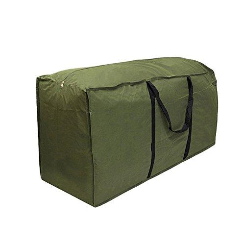 Wupettier Bolsa De Almacenamiento para Cojines para Patio, Impermeable Cremalleras Y Asas, Bolsa De Almacenamiento para Cojines para Muebles De Exterior (173 * 76 * 51)
