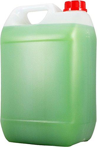 Cremeseife 2x5 Liter Kanister (Grüner Apfel) - Qualität aus Thüringen (Artikelnummer 10705-2, grüne Flüssigseife mit frischem Apfelduft)