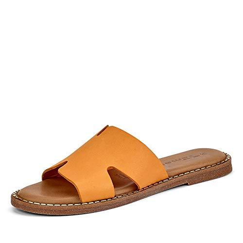 Tamaris Damen 1-1-27135-24 Pantoletten, Orange (Orange 606), 39 EU