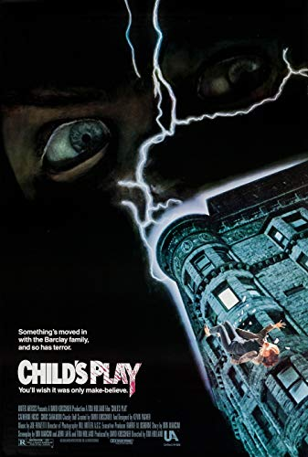 ISSICARHO Child'S Play (1988) Movie Wall Art Pretty Poster Size 60cmx90cm(24