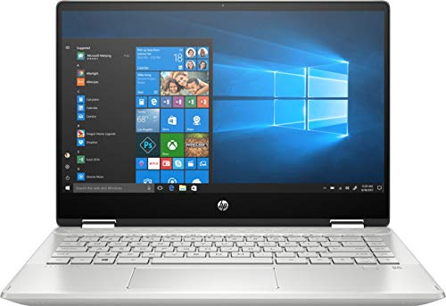 "HP Pavilion x360 - 14-dh1013ns - Ordenador portátil de 14"" FullHD (Intel Core i7-10510U, 8 GB de RAM, 512 GB SSD, NVIDIA GeForce MX250-2GB, Windows 10 ) Plata natural - teclado QWERTY Español"