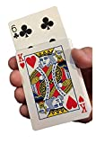 Rock Ridge Magic Rising Playing Cards Trick Set, Use Any Deck for Deception, No String or Weight