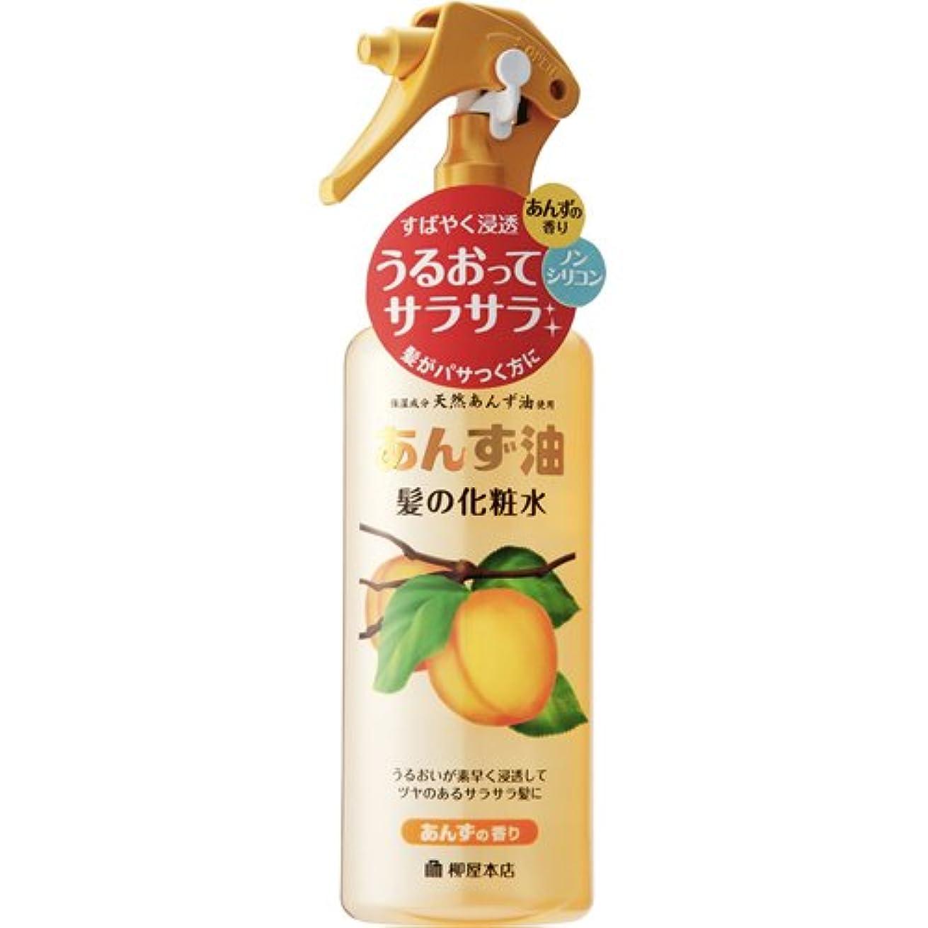 ビタミン外観叙情的な柳屋 あんず油 髪の化粧水 170ml