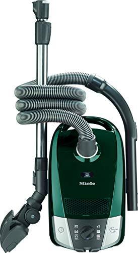 Miele 10886710 Compact C2 Excellence Ecoline, Aspirapolvere a Sacco, 550 W, 72 Decibel, 6 velocità, Pétrol