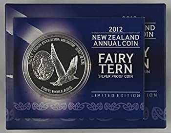 2012 NZ Silver $5 Proof Coin - Fairy Tern $5 Uncirculated Reserve Bank Of New Zealand