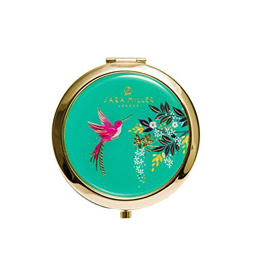 Sara Miller Compact Mirror | Chelsea Collection | Magnifying Travel Mirror | Birthday Gifts for Women | Hand Mirror | Gifts for Her | Pocket Mirror | Ladies Gifts | Handheld Mirror | Anniversary Gifts