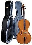 Cremona SC-175 1/4 Premier disfraz de accesorios para estudiante de violonchelo con para pinzas de ébano y acabado barnizado - marrón