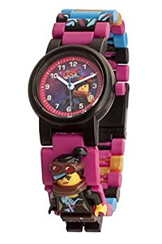 LEGO Watches and Clocks Girl s  LEGO Movie 2 Wyldstyle  Quartz Plastic Watch Color Pink  Model  8021452
