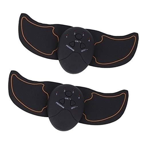 Sharplace Dispositivo de Entrenamiento del Brazo del Entrenador del Músculo del Estimulador del ABS Almohadilla del Ejercitador Eléctrico