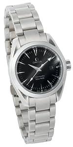 Omega Women's 2577.50.00 Seamaster Aqua Terra Quartz Watch