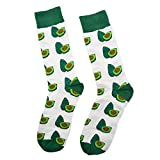Men's Funny Avocado Socks Crazy Food Fruit Crew Sock Novelty Cool Casual Dress Socks for Boy and Girl