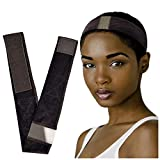 Adjustable Lace Wig Grip Band- No Slip Elastic Velvet Wig Grip Headband,...