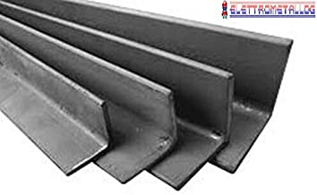 1 metro barra piatta in ferro liscio pieno 40x4 mm